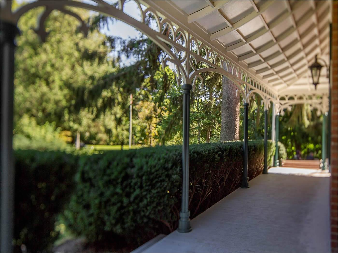 Sullivan Centre veranda