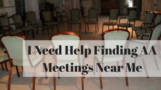 find AA meetings near me