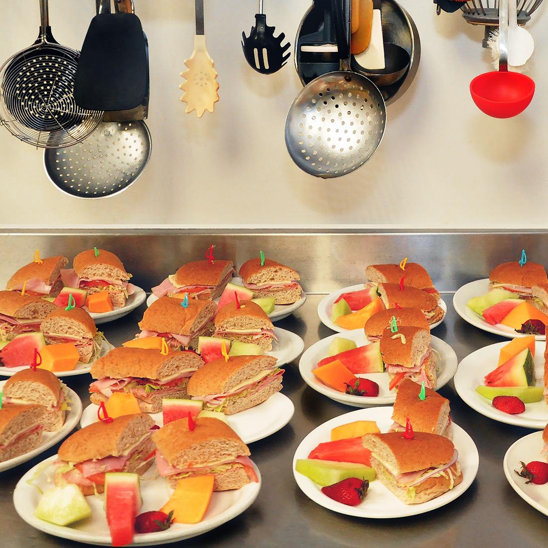 Punanai Centre kitchen