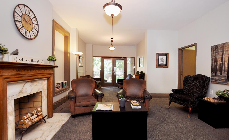 Punanai Centre living room