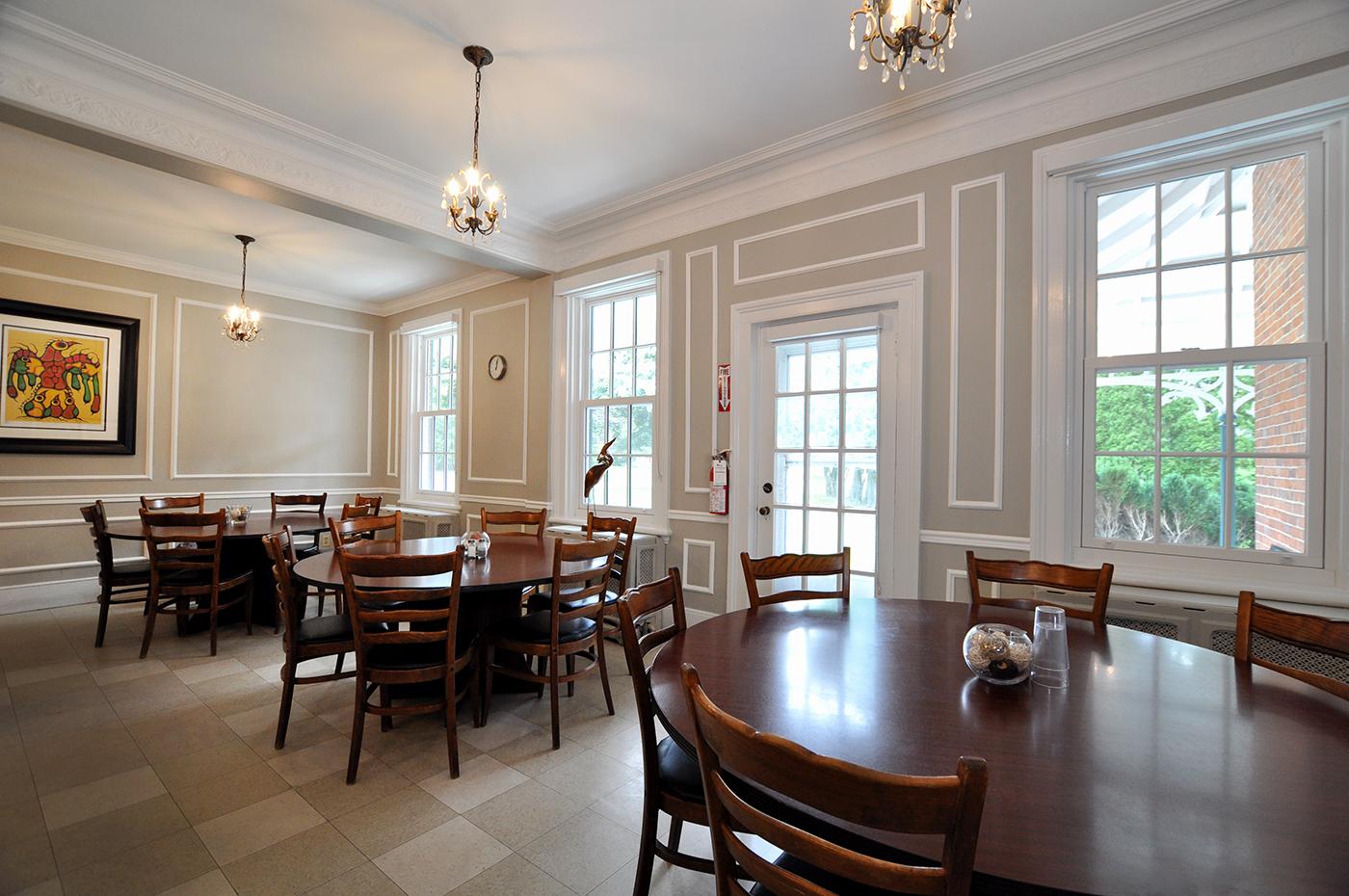 Sullivan Centre dining room